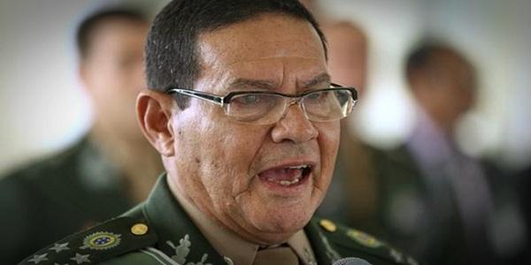 General Mourão será candidato a presidente da República