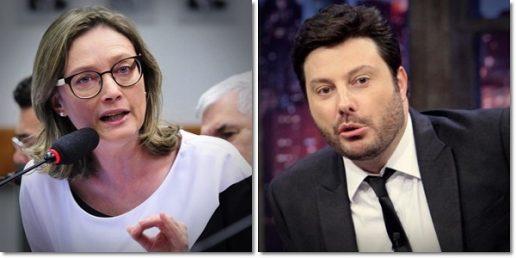 TJ-RS triplica valor que Danilo Gentili deve pagar a Maria do Rosário