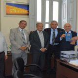 Colbert Martins recebe Bíblia Dignatária dos Gideões Internacionais