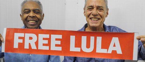 Artistas se unem a mais de 60 mil pessoas para clamar liberdade de Lula