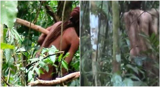 Imagens inéditas de índio isolado são divulgadas pela Funai