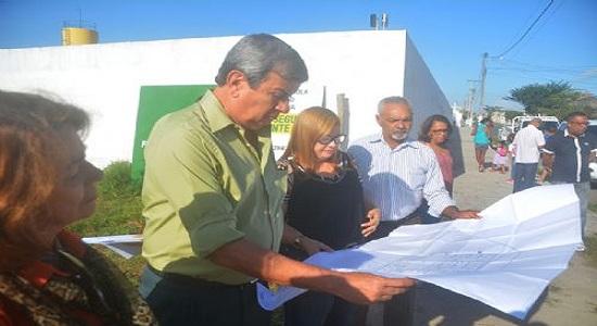 Iniciada obra do novo prédio para a Escola Municipal Adenil Falcão