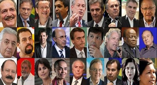 Quem são os candidatos a presidente?