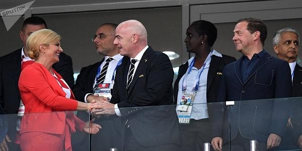 residente da FIFA declara Copa da Rússia como a melhor da história