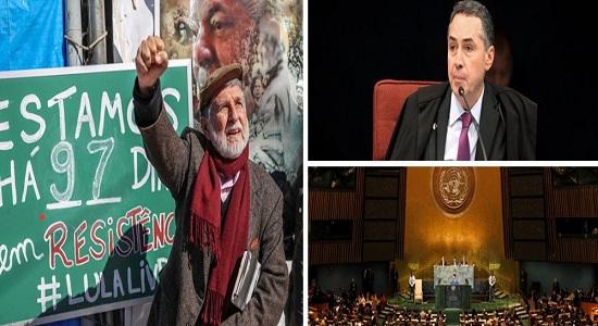 AMORIM: ELEIÇÃO SEM LULA É FRAUDE E QUEM DIZ É A ONU