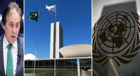 URGENTE – CONGRESSO NACIONAL POSICIONA-SE: BRASIL ASSINOU TRATADO E DEVE SEGUIR ONU