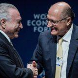 Temer admite que Alckmin é o candidato do governo