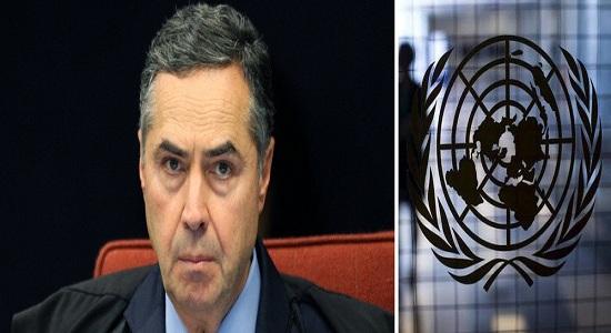 EM ARTIGO, BARROSO DEFENDEU QUE DECISÃO DA ONU ESTÁ ACIMA DA LEI BRASILEIRA