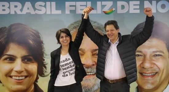 PT fará debate com Haddad e Manuela paralelo ao da Band