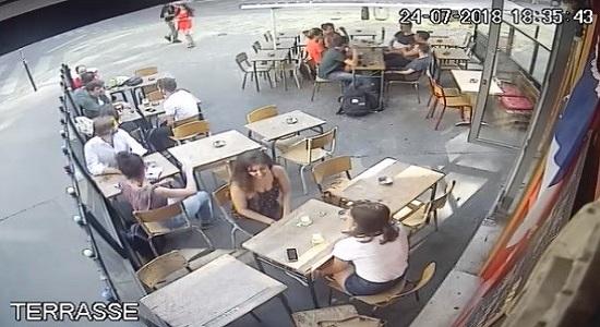 Vídeo de homem atacando mulher na França choca o mundo