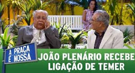 João Plenário telefonema Temer