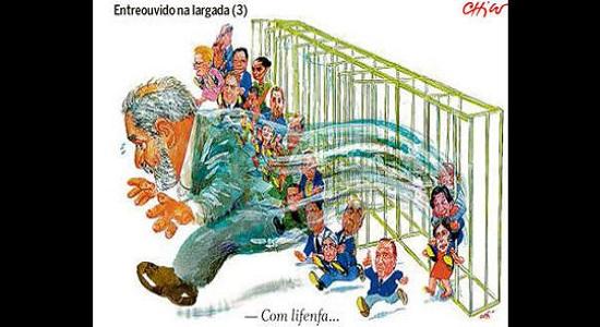 Bolsonaro e Marina querem Lula fora das pesquisas. Tirem o sofá da sala…
