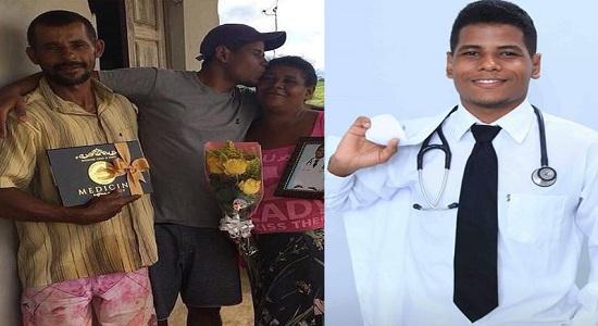 Negro quilombola se forma em Medicina e supera preconceitos
