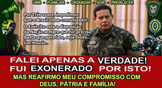 MERCADO SEGUE RUMO À EXTREMA-DIREITA E APLAUDE GENERAL DE BOLSONARO