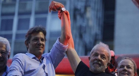 Lula já autorizou a substituição do seu nome pelo de Haddad