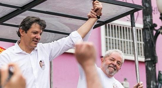 REUTERS CRAVA QUE LULA ANUNCIARÁ HADDAD ENTRE SEGUNDA E TERÇA POR CARTA