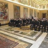 Padre Bertolim no encontro do Papa com os Josefinos