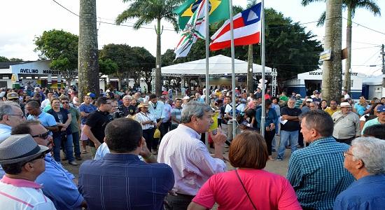Prefeito destaca retomada da agropecuária Regional na abertura da 43ª Expofeira