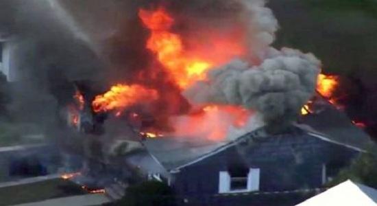 Explosões causam incêndios em 39 casas perto de Boston; uma pessoa morreu