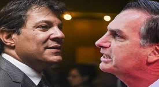 Pesquisa Ibope: Bolsonaro tem 28% e Haddad tem 19%