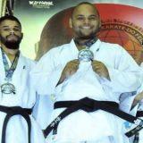 Feirenses ganham medalha de prata no Brasileiro de karatê e garantem vaga em mundial