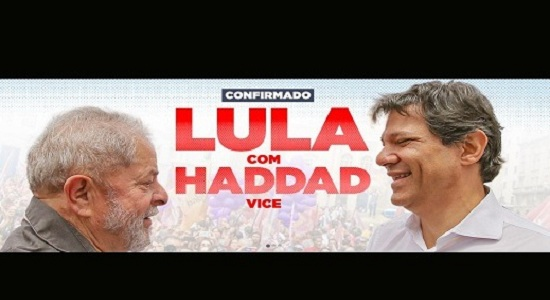 Programa de Haddad, alma de Lula. Assista