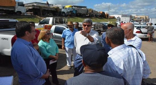 Colbert autoriza muro e prevê outras medidas para segurança do Centro de Abastecimento