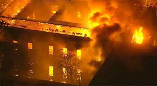 Incêndio destruiu o Museu Nacional e parte parte da história do país.