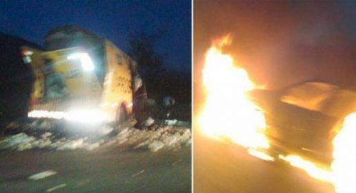 Segurança de carro-forte é morto e outro fica ferido em ataque na BR-116