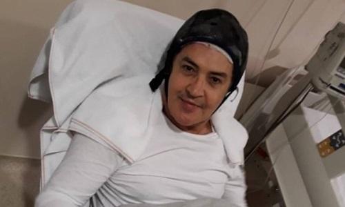Fé e cansaço  diz Beto Barbosa após sessão de quimioterapia