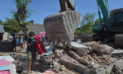 Indonésia encerrou  buscas de  desaparecidos após terremoto