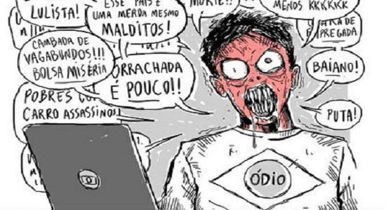 Bolsonaro recomenda canais com discurso de ódio
