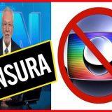 Censura recomeça no país justamente contra a Globo