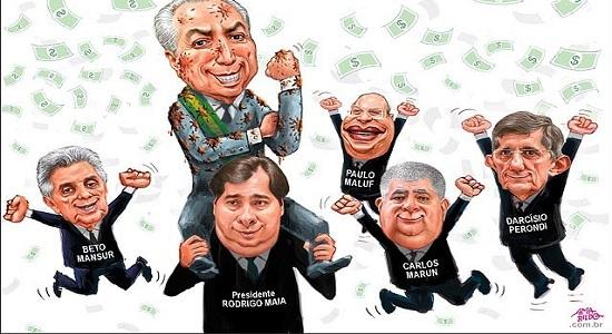 Bolsonaro premia os crimes de Temer  ao indica-lo embaixador na Itália
