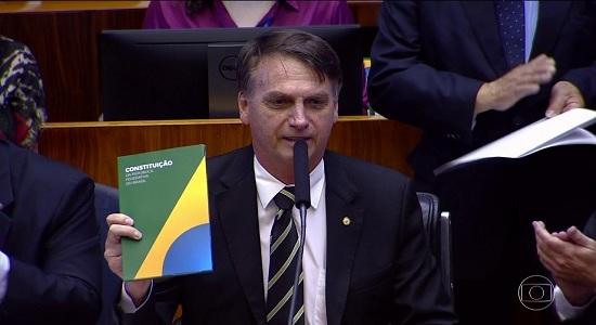 Bolsonaro faz primeiro discurso no Congresso como presidente eleito