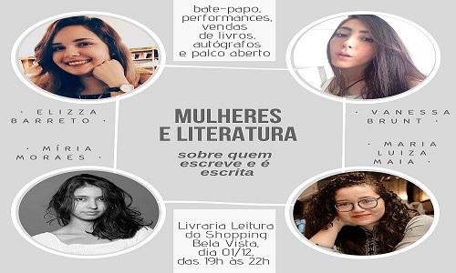 Evento literário reúne autoras baianas e mistura vendas de livros com palco aberto