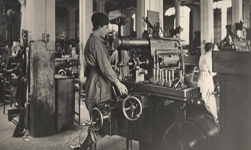 A Primeira Guerra Mundial trouxe uma grande mudança para as mulheres