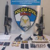 Uma operação da Polícia Civil contra milicianos prendeu PMs no Rio
