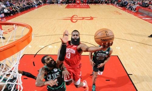 James  Harden faz  45 pontos e Rockets derrotou Celtics em casa na NBA