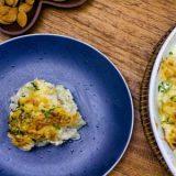 Bacalhau com natas e batatas