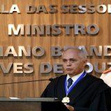 Presidente do TCU agradece a Lula em discurso de posse