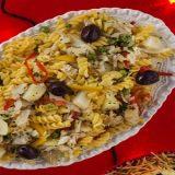 Salada de Parafuso com Bacalhau