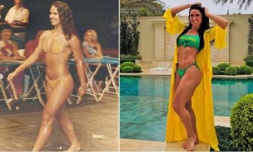 Greciele  Lacerda  publicou foto de biquini quando venceu concurso  com 21 anos
