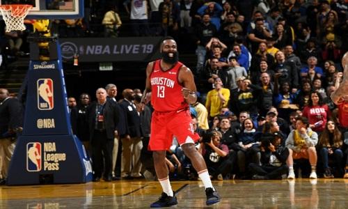 Na prorrogação na NBA Harden brilhou  e Rockets derrota Warriors