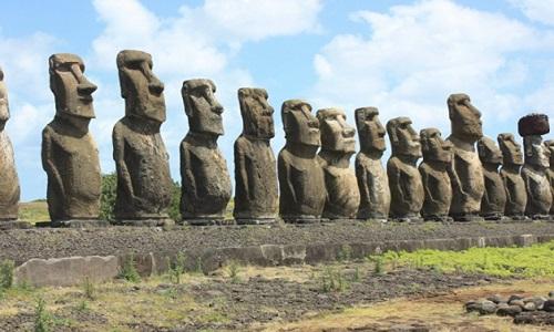 Pesquisadores desvendam enigma de localização dos moais na  Ilha de Páscoa