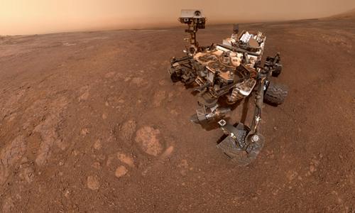 A sonda da Nasa tirou sua última selfie em região marciana