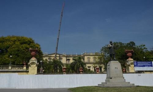 O BNDES alterou a  destinação de recursos no Museu Nacional