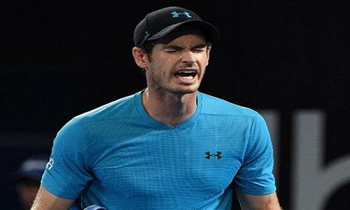 O tenista Andy Murray caiu  na segunda rodada de Brisbane