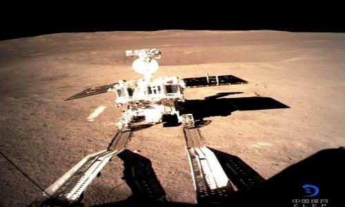 O módulo de exploração chinês Yutu-2 explorou o  lado oculto da Lua