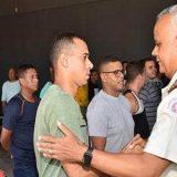 Tropa regressa do Ceará e é recepcionada pelo Comandante Geral da PMBA